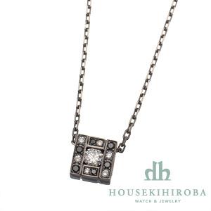 ベルエポック スクエア ダイヤ・ブラックダイヤ ペンダントネックレス 90周年記念 日本90本限定