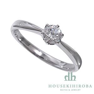 セミオーダー婚約指輪 HHR001 セッティングダイヤ 0.354-F-VS2-EX