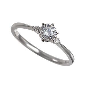 セミオーダー婚約指輪 HHR006 セッティングダイヤ 0.375-E-VS2-VG
