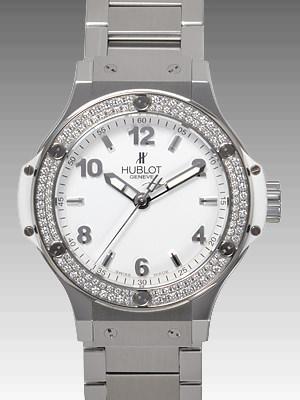 ビッグバン スチール ホワイトダイヤモンド
