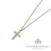 Symbol CROSS DIAMOND NECKLACE