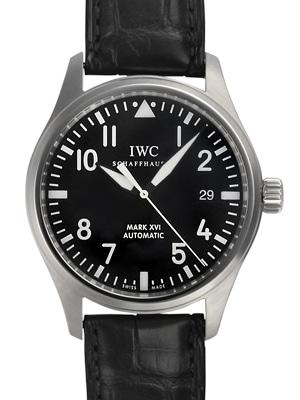 【IWC】マーク16 SS BKアラビア AT BKクロコストラップ IW325501