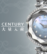 """Popular """"CENTURY"""" is received in large quantities! The beauty and the durability that CENTURY SAPPHIRE produces. Gorgeous WATCH is excellent at presence."""