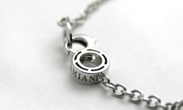 Dサイド オニキス・10Pダイヤ ブレスレット