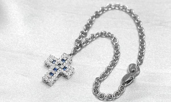 ベルエポック サファイア・ダイヤ ブレスレット