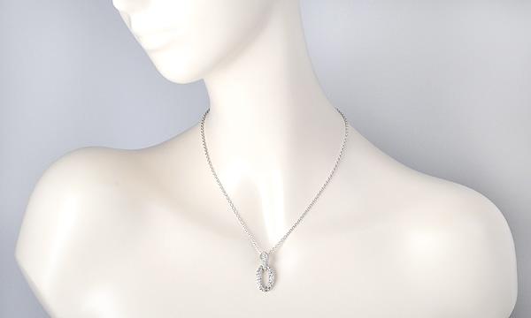 セルパン ダイヤ ネックレス