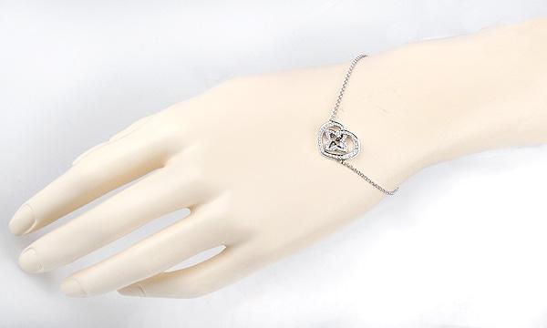 ブラスレクール ダイヤ ブレスレット