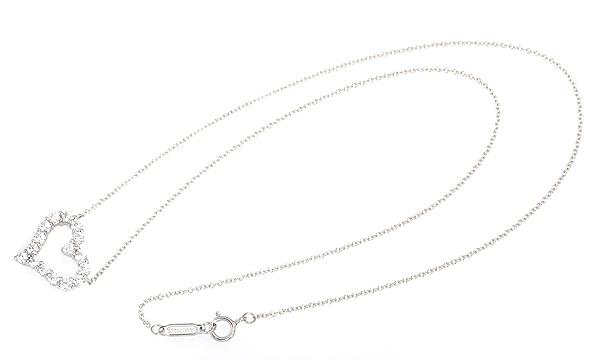 センチメンタルハート ダイヤ ペンダントネックレス(S)