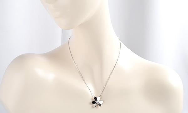 フリヴォル 3Pダイヤ ネックレス