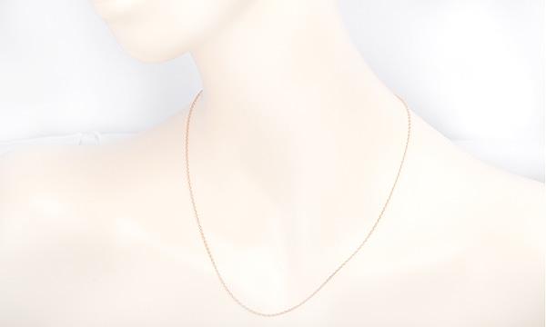 チェーン ネックレス 約45.0cm(フリーアジャスター式)