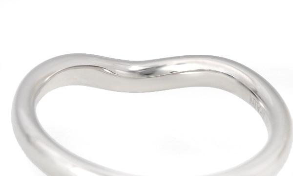 カーブドバンド 9Pダイヤ リング