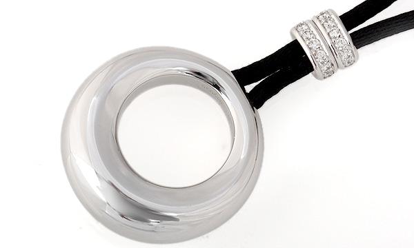 アノーダイヤ サテンコードネックレス ミディアムモデル