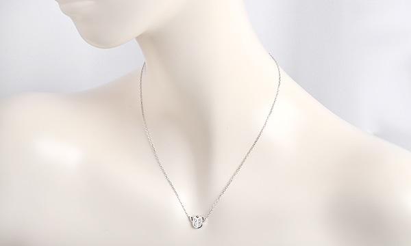 スカラベ 6Pダイヤ ネックレス