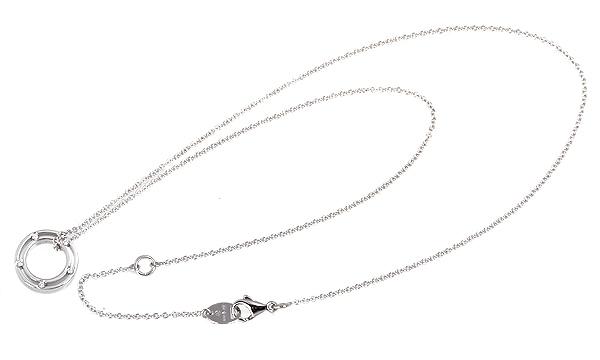Dサイド 10Pダイヤ ネックレス