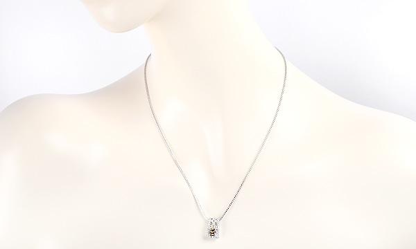 ブラウンダイヤ・ダイヤ ペンダント ネックレス