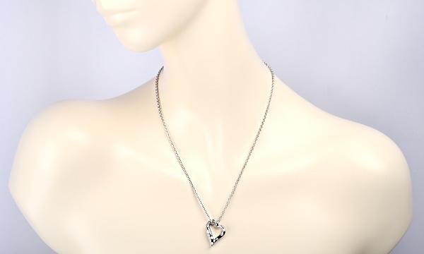 Bコレクション 9Pダイヤ ペンダントネックレス