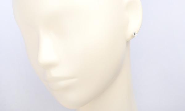 ダイヤ ハーフピアス D 0.606ct