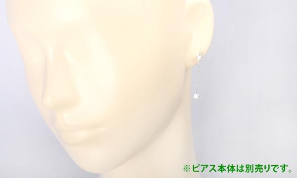 ダイヤ ピアス用カスタムチェーン D 0.355ct/0.327ct チェーン(0.28)・2.5cm