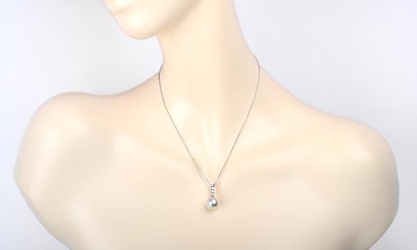 パール・ダイヤ ネックレス