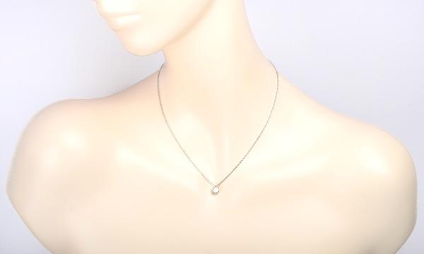 ダイヤ ペンダントネックレス D 1.020ct
