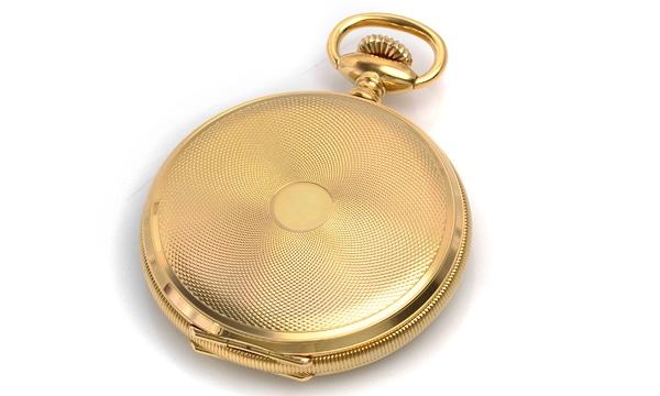 服部時計創業100年記念懐中時計