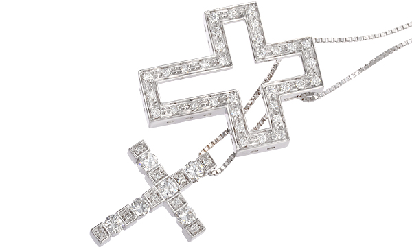 ベルエポック ダイヤ ペンダントネックレス(S)