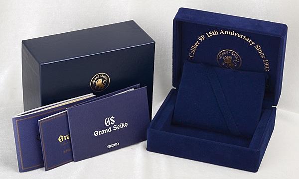 グランドセイコー セイコー100周年 キャリバー9F生誕15周年記念モデル 300本限定