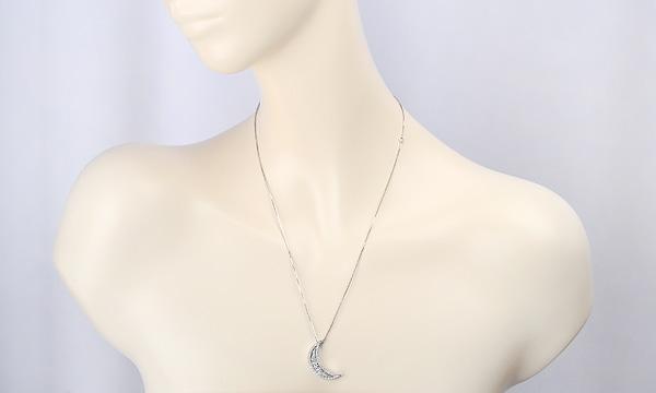 ベルエポック ムーン ダイヤ ネックレス