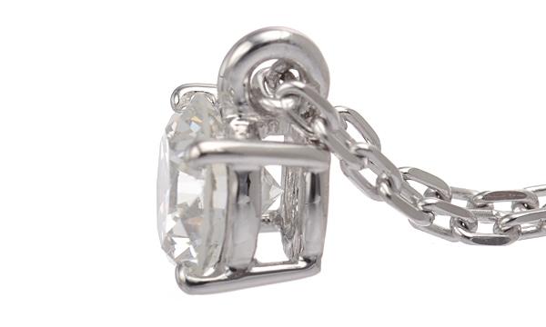 ダイヤ ペンダントネックレス D 0.654ct