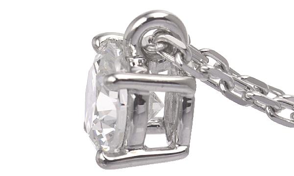 ダイヤ ペンダントネックレス D 0.790ct