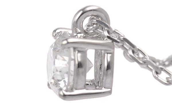 ダイヤ ペンダントネックレス D 0.752ct