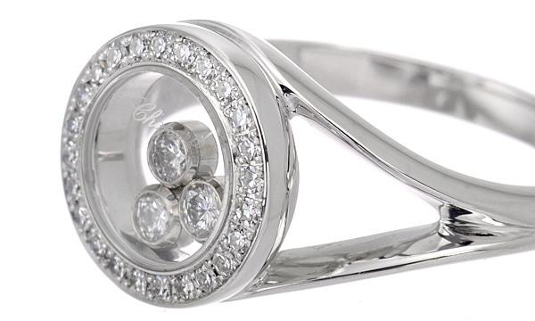 ハッピーダイヤモンド 3Pダイヤ・ダイヤ リング