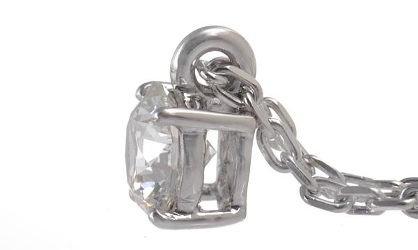 ダイヤ ペンダントネックレス D 0.519ct