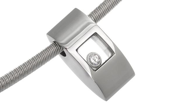 ハッピーダイヤモンド 1Pダイヤ チョーカー
