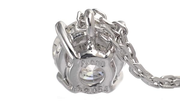 ダイヤ ペンダントネックレス D 2.054ct