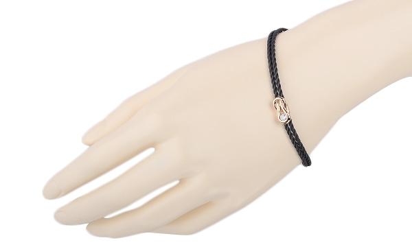 エンコルディアコードコレクション ダイヤ ブレスレット