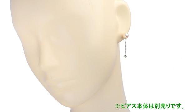 ピアス用カスタムチェーン ダイヤ D 0.17ct /0.17ct