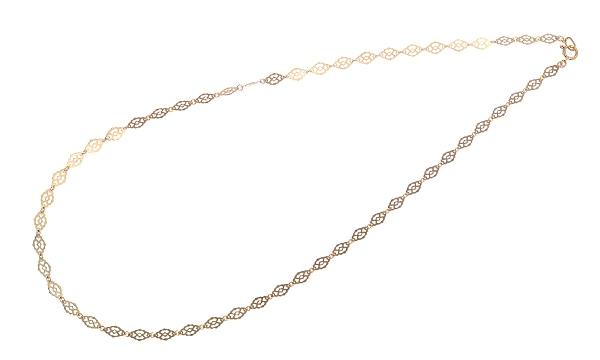 リーフデザイン ネックレス