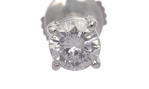 ダイヤ ハーフピアス D 0.609ct