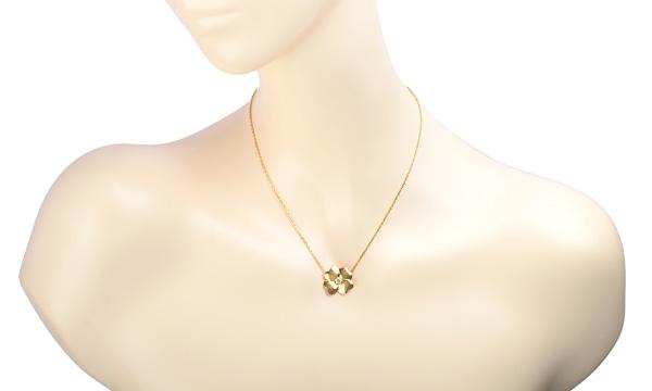コスモス ダイヤ ネックレス