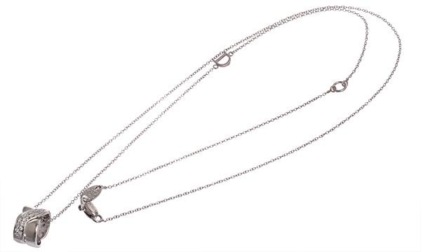 BACI ダイヤ ペンダントネックレス
