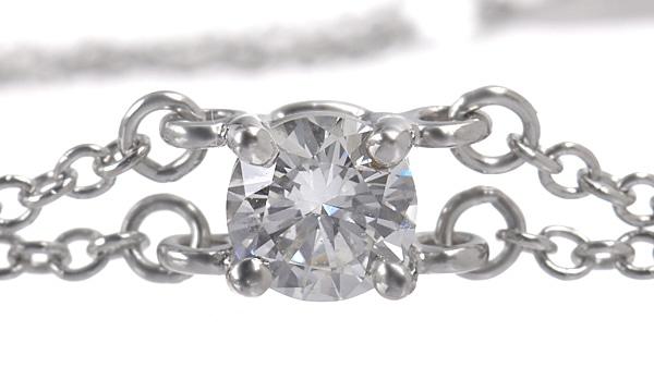 ソリティア ダイヤ ブレスレット