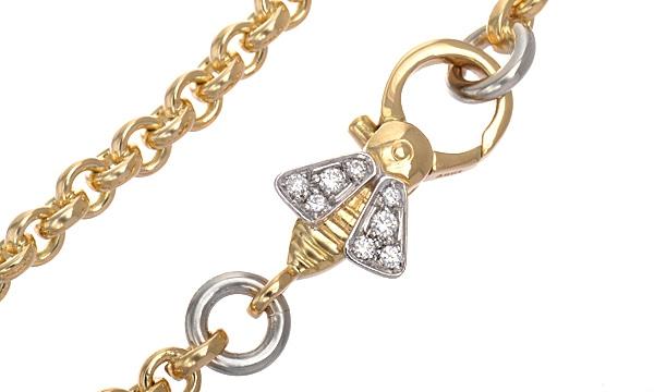 ハチ ダイヤ ブレスレット