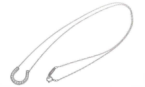 ホースシュー ダイヤ ネックレス