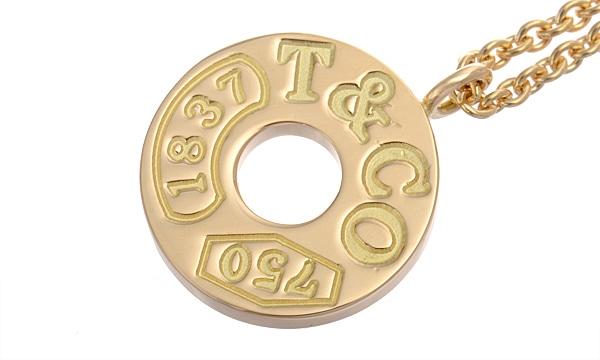 1837サークル ネックレス