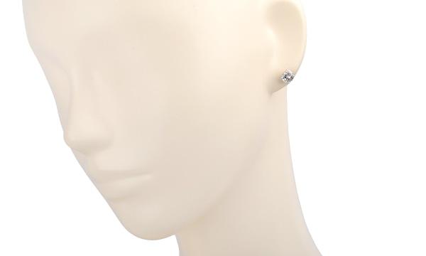 ダイヤ ピアス(シングル) D 1.067ct