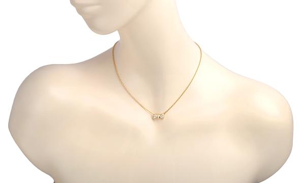 ヌーパピヨン ダイヤ ネックレス
