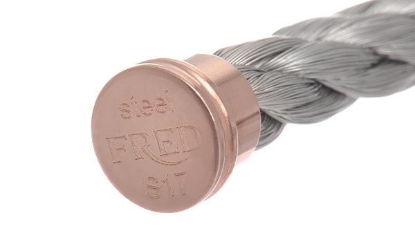 フォース10 ブレスレット用コード シルバースティール 17