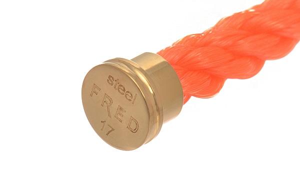 フォース10 ブレスレット用コード オレンジテキスタイル 17