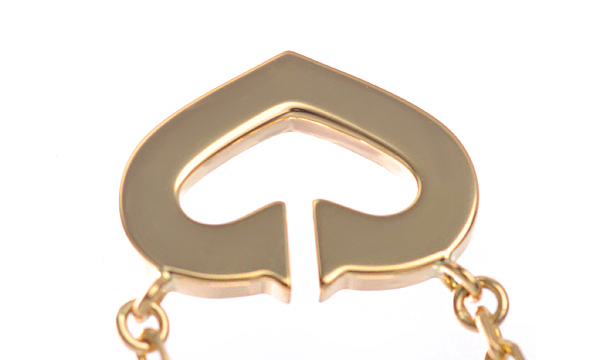 Cハート ダイヤ ネックレス
